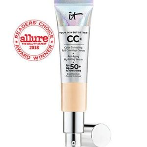 NWT It Cosmetics CC+ Cream with SPF 50+ - Light